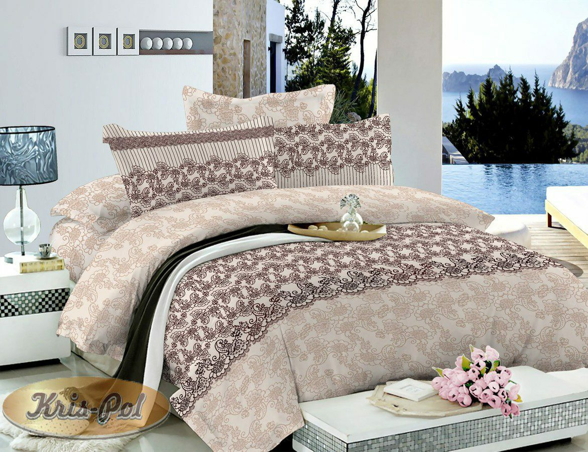 Семейные комплекты постельного белья - Сатин